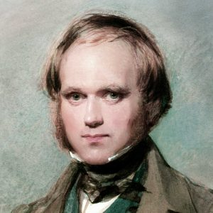 Charles Darwin as a young man.