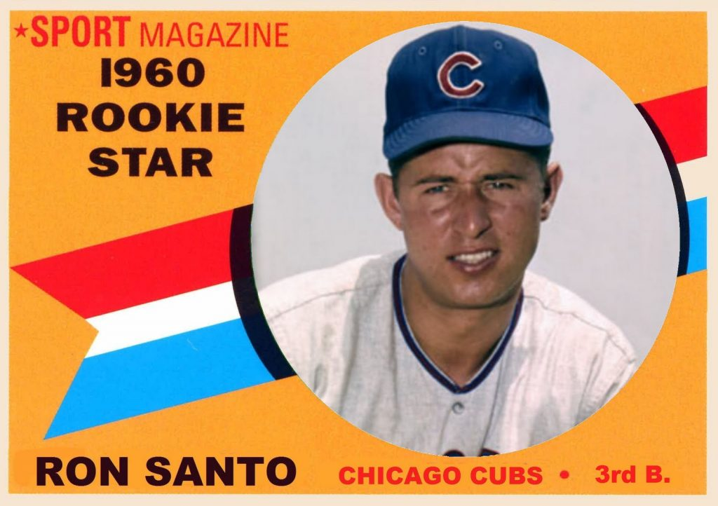 In his rookie year, Santo kept his diabetes secret from his teammates.