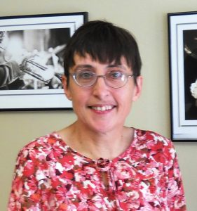 Carla Charters at an author signing.