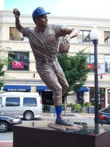 Santo is immortalized with his own statue in Chicago.
