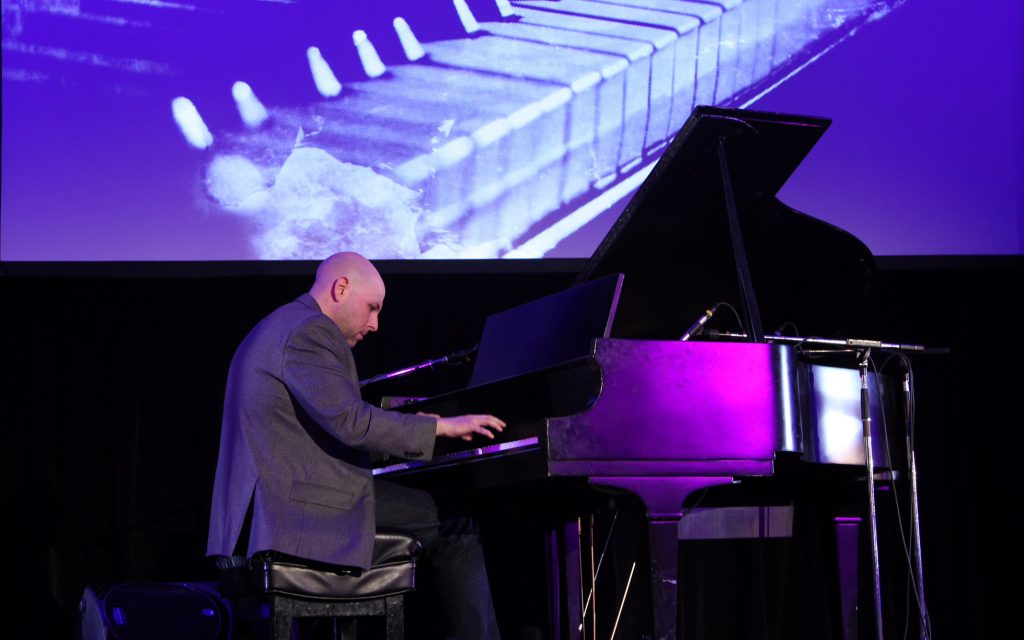 Outside of running Stupid Cancer, Matthew Zachary is a trained concert pianist who has released two albums.