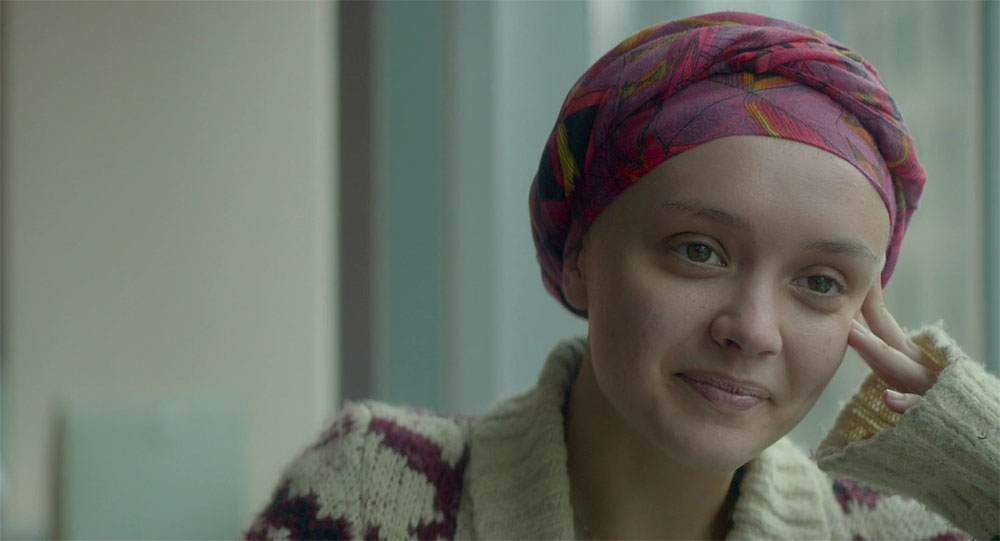 Not knowing what's going to happen in Me and Earl and the Dying Girl.