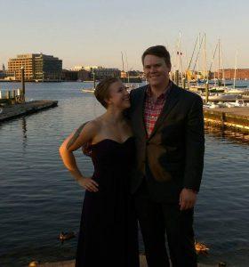 Mark Chaffer and his fellow powerlifter girlfriend, Haley Deutsch