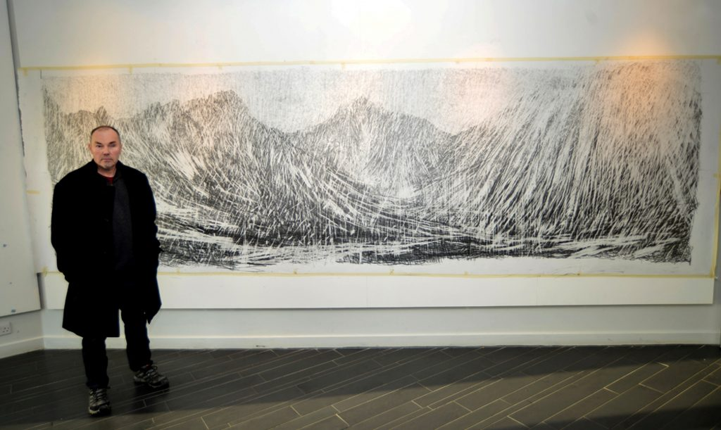 a-january-afternoon-glen-rosa-isle-of-arran-graphite-500-x-150-cm