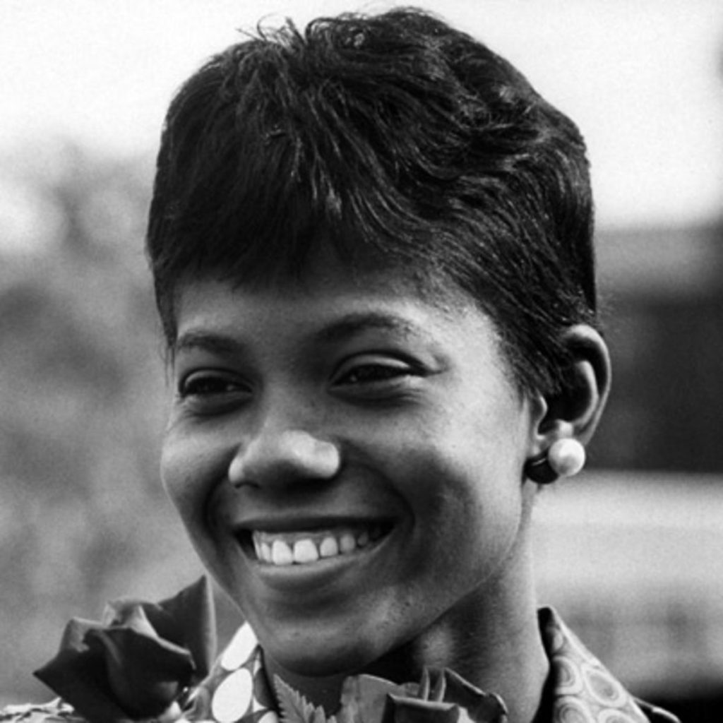 Wilma Rudolph, shortly after winning the gold.