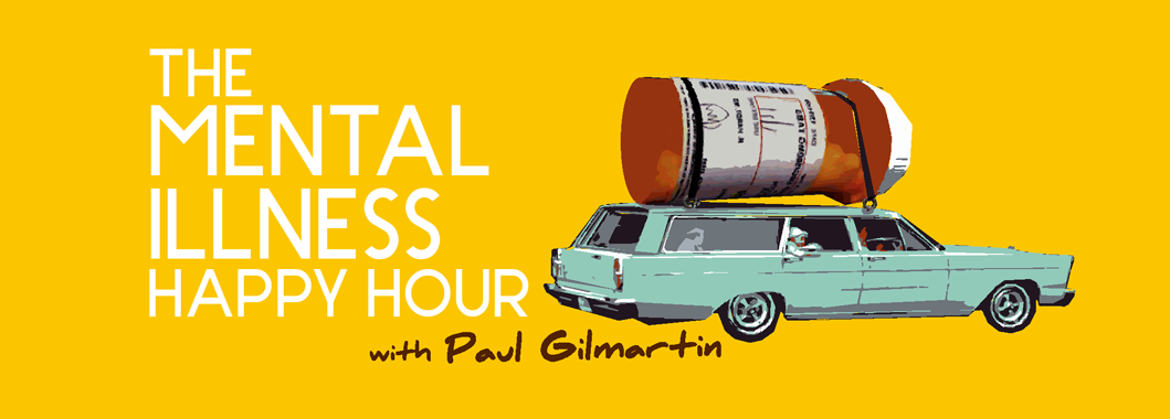 Mental Illness Happy Hour podcast logo